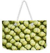 Green Background Weekender Tote Bag