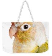 Green-cheeked Conure Pineapple P Weekender Tote Bag