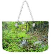 Green Forest Weekender Tote Bag