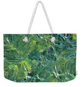 Leaves In The Wind Weekender Tote Bag