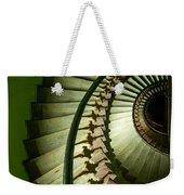 Green Spiral Staircase Weekender Tote Bag