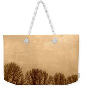 Late Autumn Weekender Tote Bag