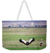 Grey Crowned Crane. The National Bird Of Uganda Weekender Tote Bag