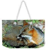 Grey Fox Weekender Tote Bag