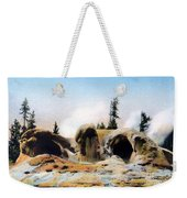 Grotto Geyser Yellowstone Np Weekender Tote Bag