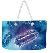 Group Of Escherichia Coli Bacteria Weekender Tote Bag