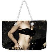 Grunge Babe On Holidays Weekender Tote Bag