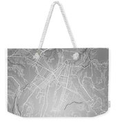 Guatemala Street Map - Guatemala City Guatemala Road Map Art On  Weekender Tote Bag