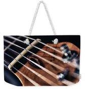 Guitar Strings Weekender Tote Bag by Stelios Kleanthous