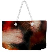 Guitar Traveling Pigments Weekender Tote Bag
