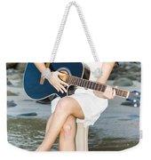 Guitar Woman Weekender Tote Bag