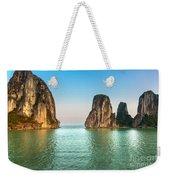 Halong Bay -vietnam Weekender Tote Bag