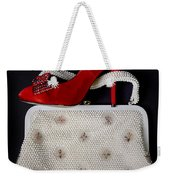 Handbag With Stiletto Weekender Tote Bag