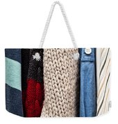 Hanging Clothes Weekender Tote Bag