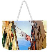 Hanging In Venice Weekender Tote Bag