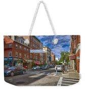 Hanover St. Weekender Tote Bag by Joann Vitali