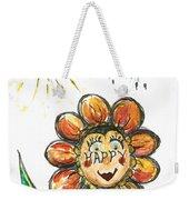 Happy Flower Weekender Tote Bag