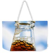 Happy New Beer Weekender Tote Bag