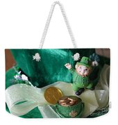 Happy St. Patricks Day Weekender Tote Bag