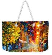 Happy Street Weekender Tote Bag