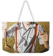 Happy The Golf Man Weekender Tote Bag