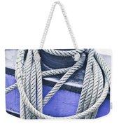 Harbour Rope Weekender Tote Bag