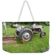 Hard Days Work Farm Tractor Weekender Tote Bag