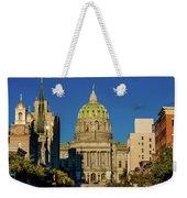 Harrisburg, Pennsylvania, City Skyline Weekender Tote Bag