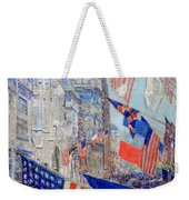 Hassam's Allies Day May 1917 -- The Avenue Of The Allies Weekender Tote Bag