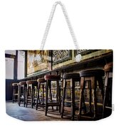 Have A Seat Weekender Tote Bag by Heather Applegate
