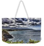 Hawaii Big Island Coastline V2 Weekender Tote Bag