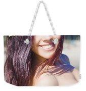 Hawaiian Girl In Hawaii Weekender Tote Bag