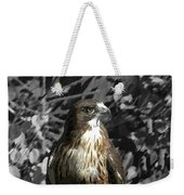 Hawk Of Prey Weekender Tote Bag