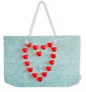 Heart Shape Weekender Tote Bag
