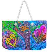 Hearts Of Nature Weekender Tote Bag