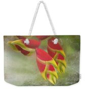 Heliconia Rostrata Weekender Tote Bag