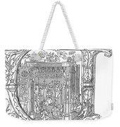 Henry Viii (1491-1547) Weekender Tote Bag