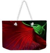 Hibiscus Red Weekender Tote Bag