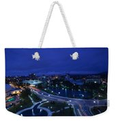 High Angle View Of A City, Big Spring Weekender Tote Bag