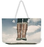 High Over The World Weekender Tote Bag