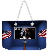 Hillary 2016 Weekender Tote Bag by Marvin Blaine