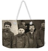 Hine Breaker Boys, 1911 Weekender Tote Bag
