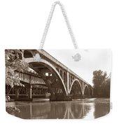 Historic Wil-cox Bridge Weekender Tote Bag