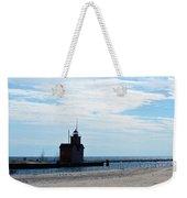 Holland Lighthouse Weekender Tote Bag