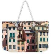 homes in Camogli Weekender Tote Bag