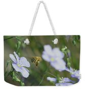 Honeybee At Work  Weekender Tote Bag