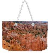 Hoodoo Rock Formations In A Canyon Weekender Tote Bag