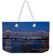 Horace Wilkinson Bridge Weekender Tote Bag