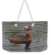 Horned Grebe Weekender Tote Bag