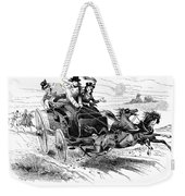 Horse-drawn Carriage Weekender Tote Bag